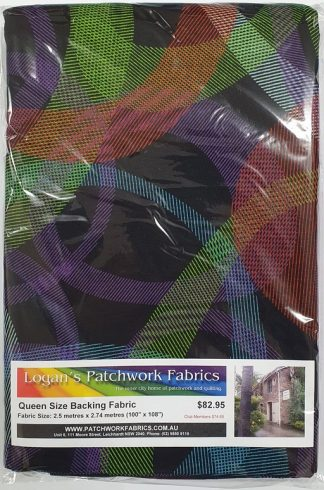 Queen Size Backing Fabric QSBFPk-4526-98