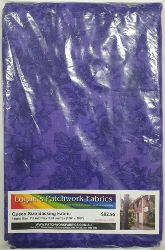 Queen Size Backing Fabric QSBFPk-GALSQB-1014