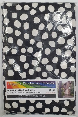 Queen Size Backing Fabric QSBFPk-TE9000BK