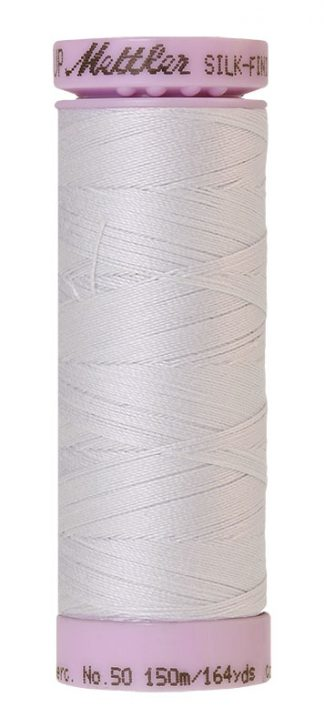 Mettler Silk-finish Cotton 50W 0038 Glacier Green 150m Spool