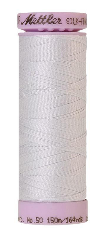 Mettler Silk-finish Cotton 50W 0038 Glacier Green 150m Spool