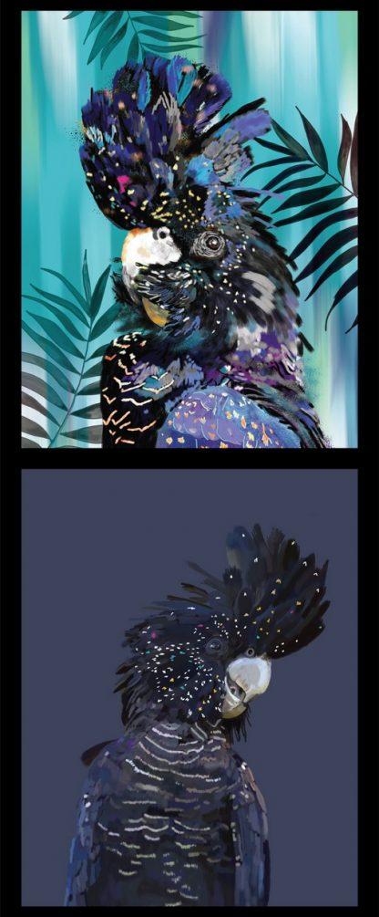 Botanical Birds Panel DV3477