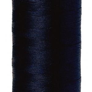 Mettler Silk-finish Cotton 50W 0827 Dark Blue 500m Spool