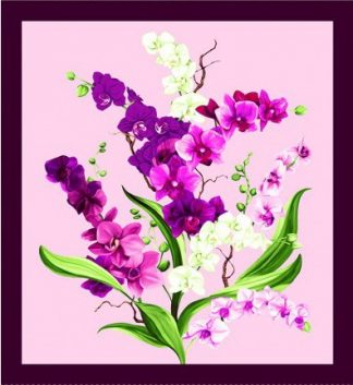 Orchid Fancy Panel Y2945-121 Orchid
